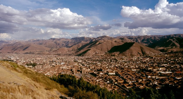 Cusco, the belly button