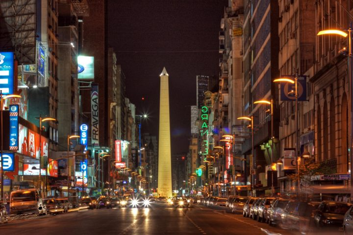 Photo of The street which never sleeps, Buenos Aires