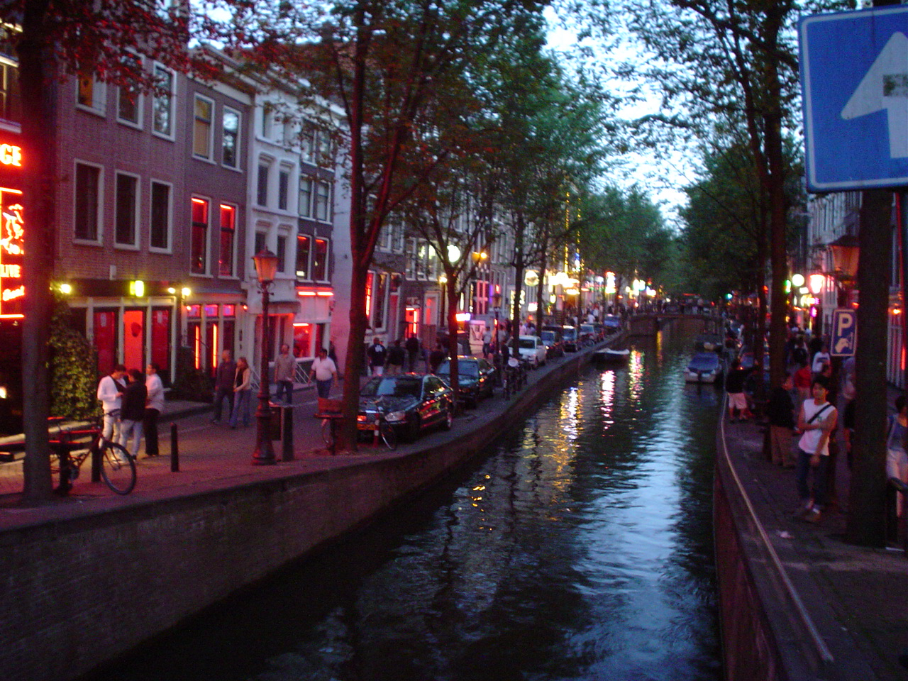 Photo of The Red Light District,, Amsterdam